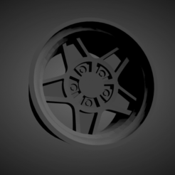 ATS Classic.png Download STL file ATS Classic SCALABLE AND PRINTABLE RIMS • Model to 3D print, rob3rto