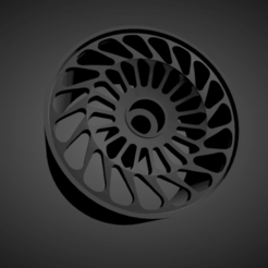 Vossen ML-R2.png Download STL file Vossen ML-R2 rims with brakes and tires for Hot Wheels • 3D print object, rob3rto