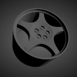Corvette C4 Grand Sport.png Download STL file Corvette C4 Grand Sport OEM SCALABLE AND PRINTABLE RIMS • 3D printable object, rob3rto