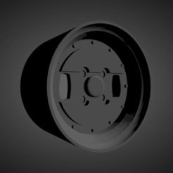 Advan BRX.png Download STL file Advan BRX SCALABLE AND PRINTABLE RIMS • 3D printing template, rob3rto