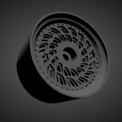 WCI LP1 (2).png Download STL file WCI LP1 RIMS WITH BRAKES AND TIRES FOR HOT WHEELS • 3D print object, rob3rto