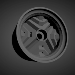 Ronal Inca.png Download STL file Ronal Inca rims with brakes and tires for Hot Wheels • Template to 3D print, rob3rto