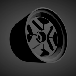Datsun OEM (1).png Download STL file Datsun OEM small rims with brakes and tires for Hot Wheels • Model to 3D print, rob3rto