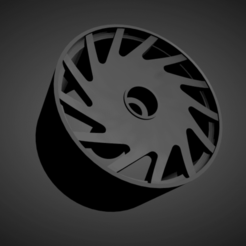 Vossen VLE.png Download STL file Vossen VLE rims with brakes and tires for Hot Wheels • 3D printer object, rob3rto
