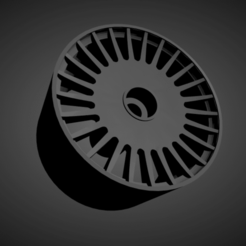 Vossen ML-R1.png Download STL file Vossen ML-R1 with brakes and tires for Hot Wheels • Object to 3D print, rob3rto