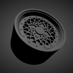 BBS E76.png Download STL file BBS E76 SCALABLE AND PRINTABLE RIMS • Object to 3D print, rob3rto