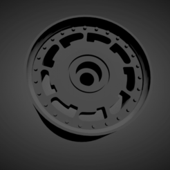 Pirelli P-slot (2).png Download STL file Pirelli P-slot rims with brakes and tires for Hot Wheels • 3D printable model, rob3rto