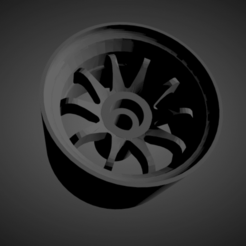 Rays Volk CE28.png Download STL file Rays Volk CE28 rims with brakes and tires for Hot Wheels • 3D printable design, rob3rto
