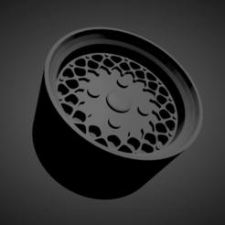 BBS E33.png Download STL file BBS E33 SCALABLE AND PRINTABLE RIMS • 3D printing template, rob3rto