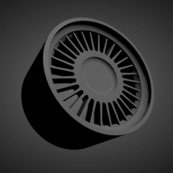 BMW Style 4.png Download STL file BMW Style 4 SCALABLE AND PRINTABLE RIMS • Design to 3D print, rob3rto