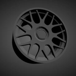 BBS RC.png Download STL file BBS RC SCALABLE AND PRINTABLE RIMS • 3D print template, rob3rto