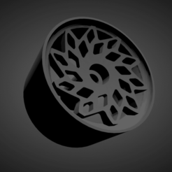 WCI MD1.png Download STL file WCI MD1 RIMS WITH BRAKES AND TIRES FOR HOT WHEELS • Model to 3D print, rob3rto