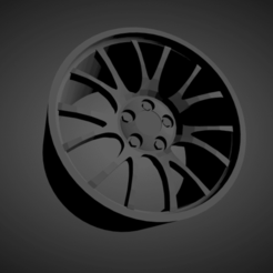 BBS CH-R.png Download STL file BBS CH-R SCALABLE AND PRINTABLE RIMS • 3D printing design, rob3rto