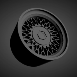 BMW Style 7.png Download STL file BMW Style 7 SCALABLE AND PRINTABLE RIMS • 3D printing template, rob3rto