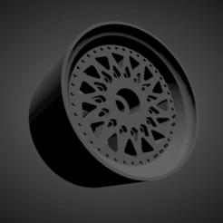 WCI SA07.png Download STL file WCI SA07 RIMS WITH BRAKES AND TIRES FOR HOT WHEELS • 3D printer model, rob3rto