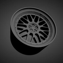 BBS LM.png Download STL file BBS LM SCALABLE AND PRINTABLE RIMS • Template to 3D print, rob3rto