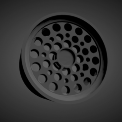 ATS Pepperpots.png Download STL file ATS Pepperpots SCALABLE AND PRINTABLE RIMS • 3D printing template, rob3rto