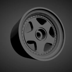 OZ Futura.png Download STL file OZ Futura rims with brakes and tires for Hot Wheels • 3D printing design, rob3rto