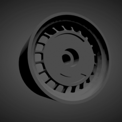 Ronal Turbo.png Download STL file Ronal Turbo rims with brakes and tires for Hot Wheels • Object to 3D print, rob3rto