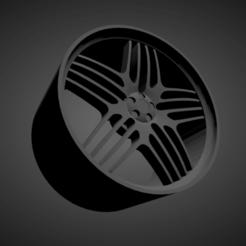 Alpina..png Download STL file Alpina SCALABLE AND PRINTABLE RIMS • 3D printer template, rob3rto