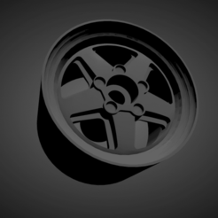 Ronal R9.png Download STL file Ronal R9 rims with brakes and tires for Hot Wheels • Template to 3D print, rob3rto