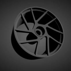 Vossen NV2.png Download STL file Vossen NV2 rims with brakes and tires for Hot Wheels • Object to 3D print, rob3rto