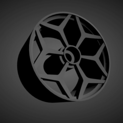 Vossen NV1.png Download STL file Vossen NV1 rims with brakes and tires for Hot Wheels • 3D printable object, rob3rto