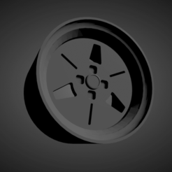 Advan YH.png Download STL file Advan YH SCALABLE AND PRINTABLE RIMS • 3D printing object, rob3rto