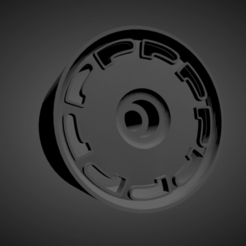 Pirelli P-slot...png Download STL file Pirelli P-slot rims with brakes and tires for Hot Wheels • 3D printable model, rob3rto