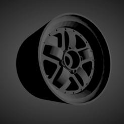 Mugen MR5.png Download STL file Mugen MR5 rims with brakes and tires for Hot Wheels • 3D printing design, rob3rto