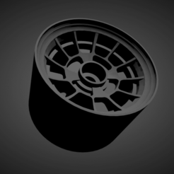 Ronal R2.png Download STL file Ronal R2 WITH BRAKES AND TIRES FOR HOT WHEELS • 3D printer object, rob3rto