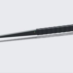 Paper_knife_3.png Télécharger fichier STL gratuit Couteau à papier / Brieföffner / Coupe-papier • Design pour impression 3D, ATI10