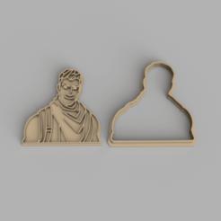 men.png Download STL file Fortnite character Jonesy cookie cutter • 3D printer model, Jordi34x