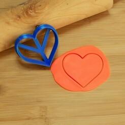 DSC_6289.jpg Download STL file Heart cookie cutter, valentine's day cookie cutter • 3D printable design, Jordi34x