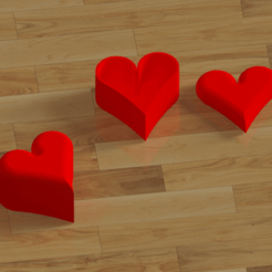COEUR-2.png Download free STL file Small heart-shaped box • Model to 3D print, Dunandlopic