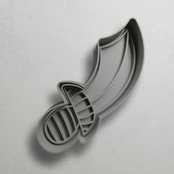 push-diseño.png Download STL file Pirate's sword • 3D printable object, escuderolu
