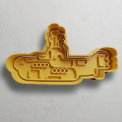 push-diseño.png Télécharger fichier STL Jaune sous-marin • Modèle pour imprimante 3D, escuderolu