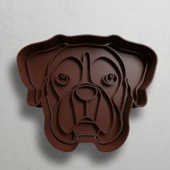 push-diseño.png Télécharger fichier STL Chien Boxer • Design à imprimer en 3D, escuderolu