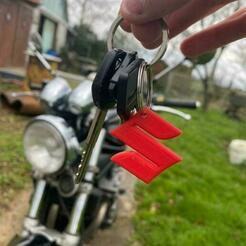 IMG_20210113_152320_719.jpg Download free STL file Suzuki Keychain • 3D print object, Smart_3D_Object