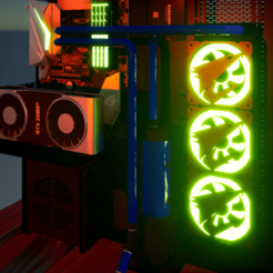 Imagen3_000.png Download STL file AORUS COVERAGE • Template to 3D print, vegaluis