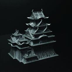 himeji-03.jpg Télécharger fichier STL Château Himeji • Design pour imprimante 3D, tinkerzon
