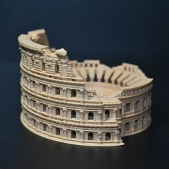 dsc_0031.jpg Télécharger fichier STL Colisée, Rome Italie • Modèle imprimable en 3D, tinkerzon