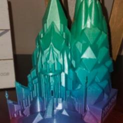 Untitled 2.png Télécharger fichier STL gratuit CHÂTEAU D'ELSA • Objet à imprimer en 3D, tinkerzon