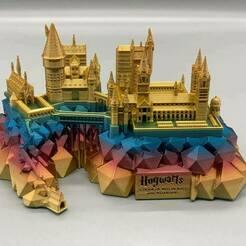 122793302_10157228074511883_5478064279296155944_n.jpg Télécharger fichier STL Le château de Poudlard, Harry Potter • Design pour impression 3D, tinkerzon