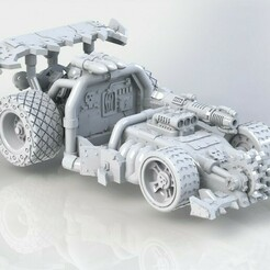 SAD_offroad.JPG Download STL file Greenskins Racing Car • 3D printing design, AgentSmith99
