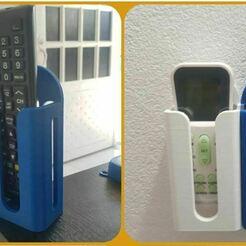 1.JPG Download OBJ file Remote Control Support • 3D printer design, RYG_Ingenieria2021