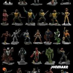 PicsArt_01-23-05.10.31.jpg Download STL file Disney Infiniti Pack • 3D printable template, JonMAKE