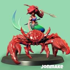 PicsArt_01-23-05.19.32.jpg Télécharger fichier STL Figure Ariel • Objet à imprimer en 3D, JonMAKE