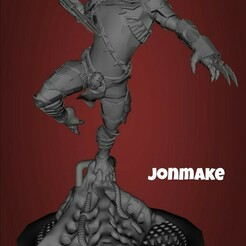 PicsArt_01-23-05.52.54.jpg Download OBJ file Predator Figure • 3D print object, JonMAKE