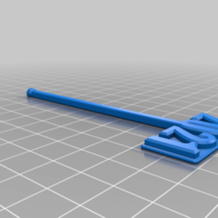 2021Swizzle.png Download free STL file 2021 Swizzle Stick • 3D printer template, LeisureLuke